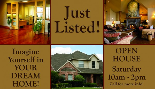 Realtor Postcard Just Listed